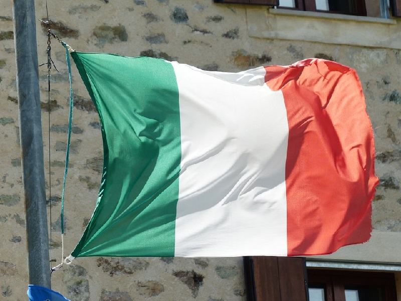 Italienische Fahne