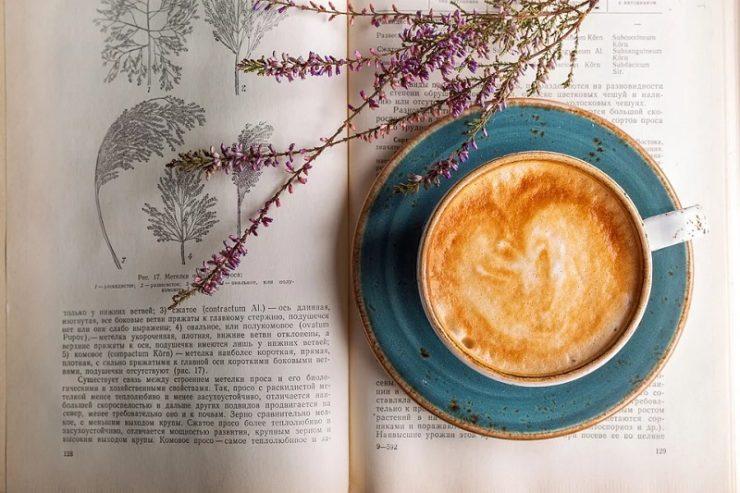 Buch über Kaffee