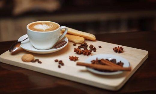 angerichteter Kaffee