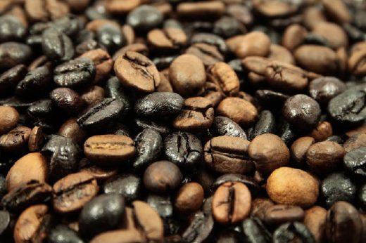 gemischte Kaffeebohnen