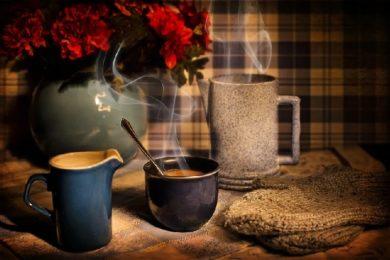 Eine leckere Kanne Kaffee
