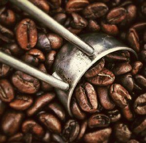 Schaufel-Kaffee