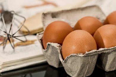 Eier und Mixstab