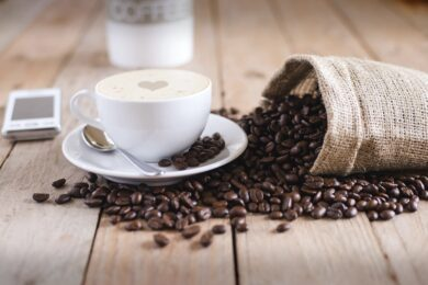 Sack voll Kaffee